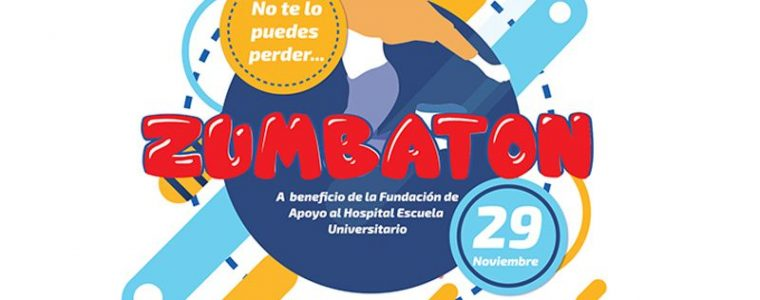 Zumbatón a beneficio del Hospital Escuela Universitario