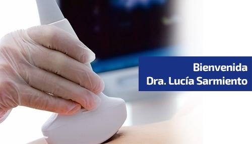 Bienvenida Dra. Lucía Sarmiento